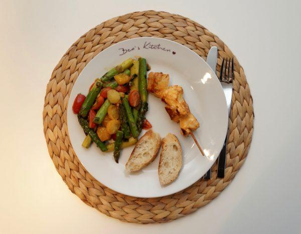 Spargel Tomaten Salat