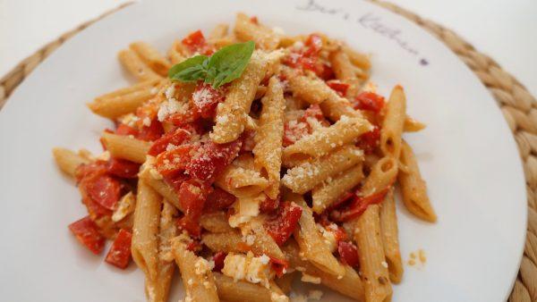Paprika Tomaten Pasta