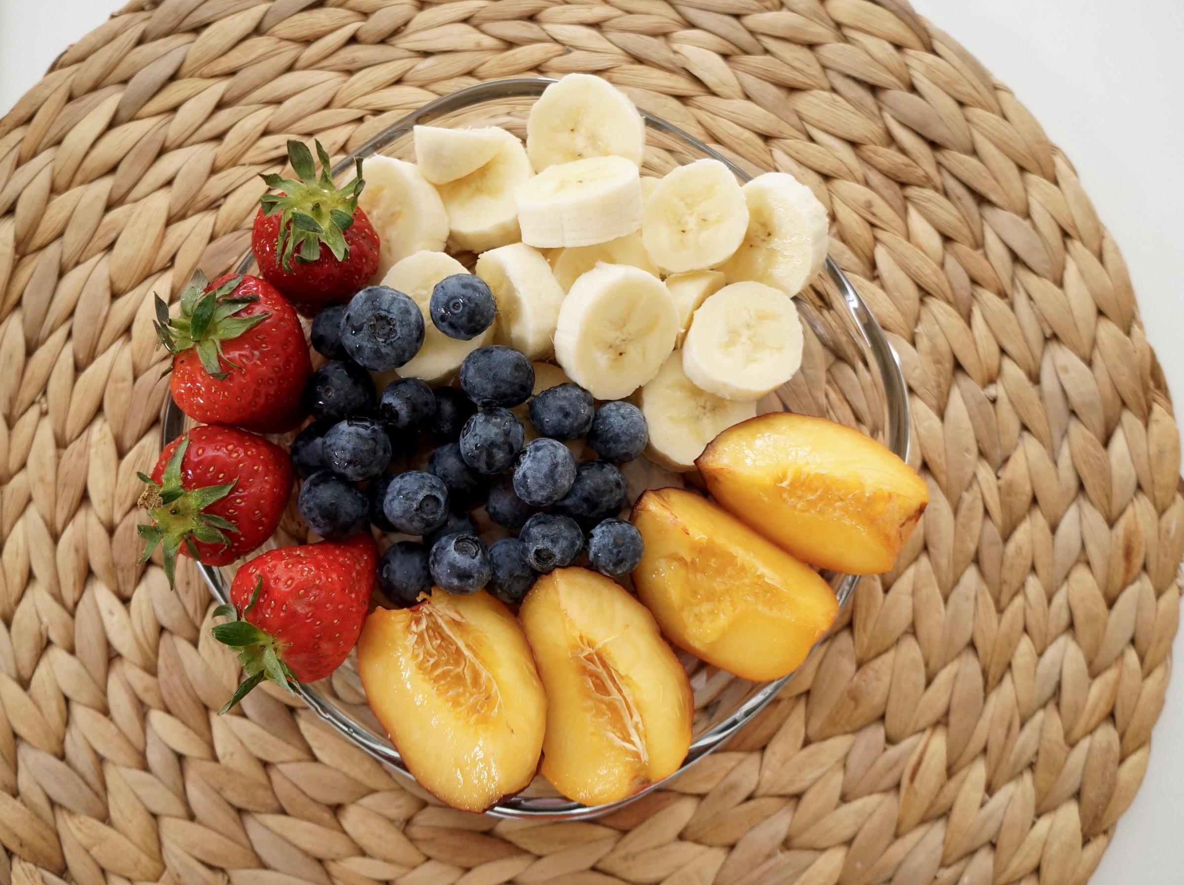 Frühstücks Obst
