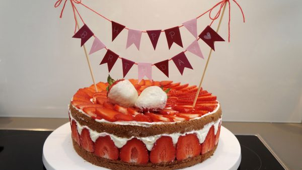 Erdbeertorte Milchschnitten Torte