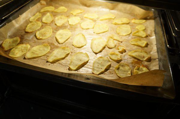 Gemüsechips aus dem Ofen