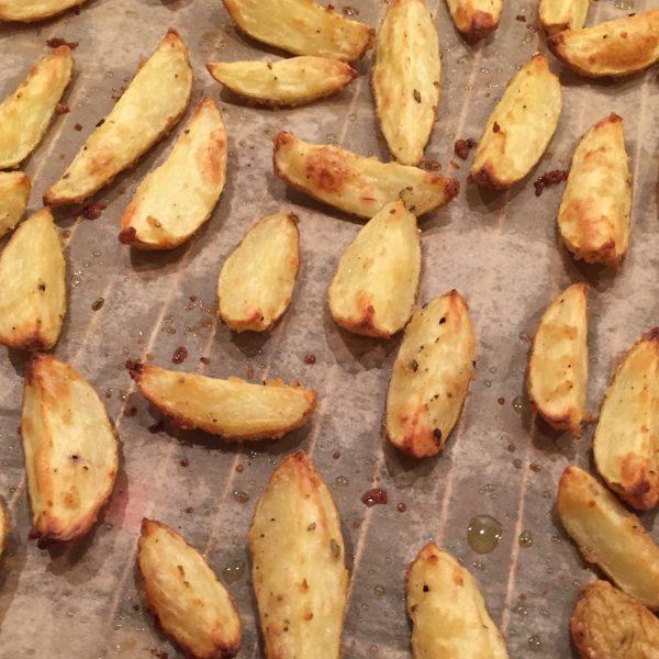 Knoblauchkartoffeln