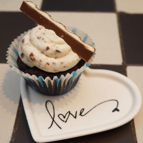 Kinderriegel Kinderschokolade Cupcakes