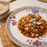 Kichererbsen-Curry mit Feta